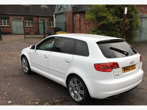audi a3 s line 2 0 tdi sportback 5 door excellent condition not polo a4 bmw halesowen sandwell. Black Bedroom Furniture Sets. Home Design Ideas