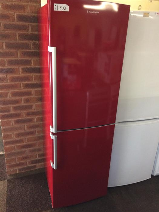 russell hobbs fridge freezer red wolverhampton dudley. Black Bedroom Furniture Sets. Home Design Ideas