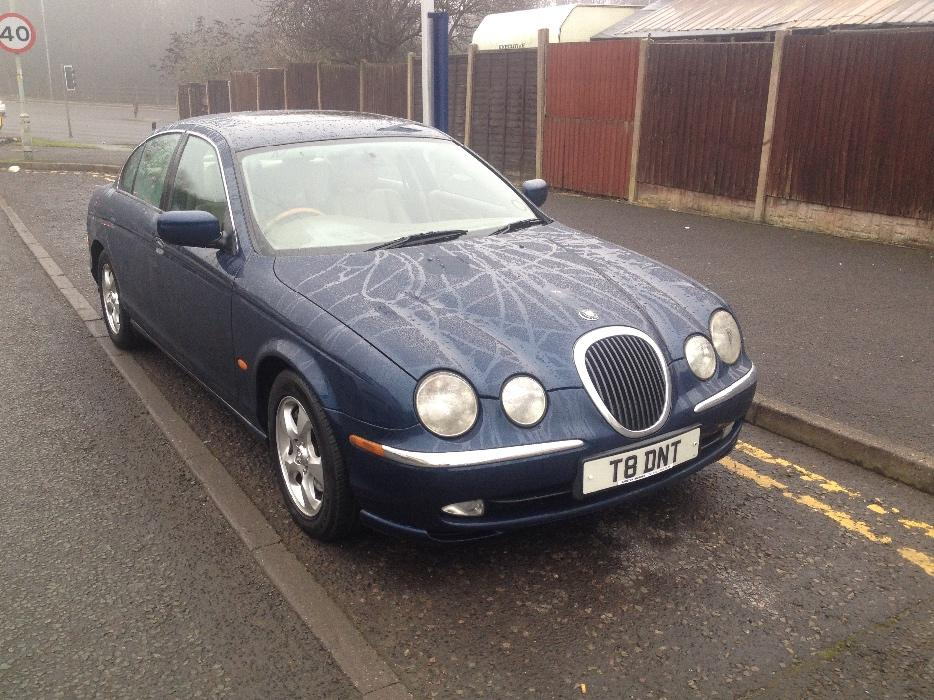 jaguar s type 3 0 v6 se auto 2001 private plate. Black Bedroom Furniture Sets. Home Design Ideas