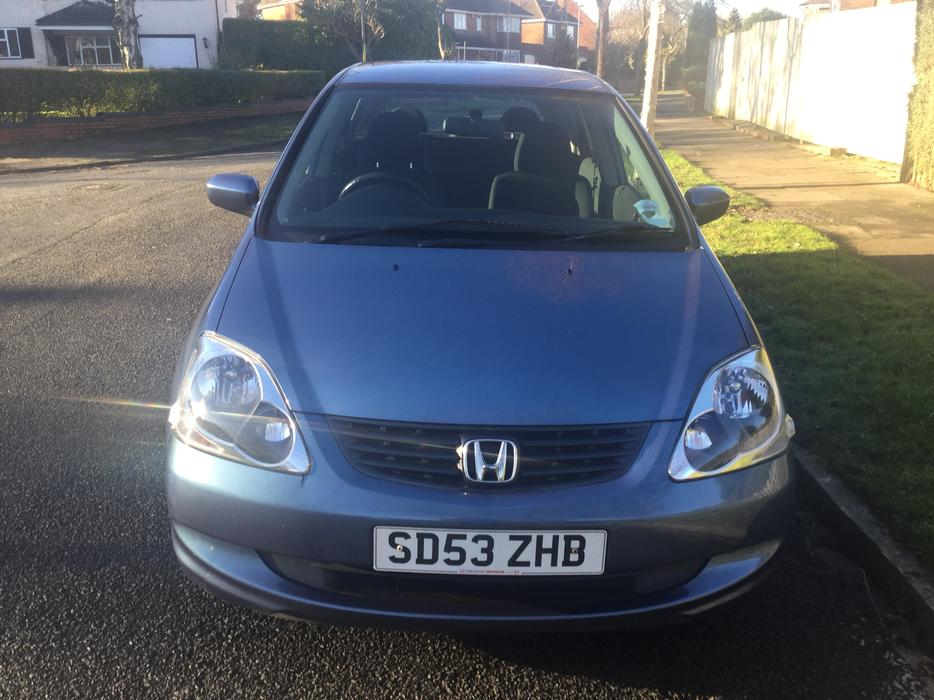 honda civic vtec se 5dr hatch 1 lady owner with 82k fmdsh outside black country. Black Bedroom Furniture Sets. Home Design Ideas