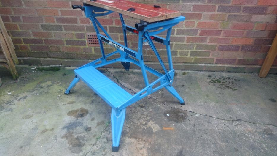 Vintage Diy Black And Decker Workmate Work Bench 2 Height Old Tool Stourbridge Wolverhampton