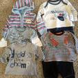 baby boys 0-3mths clothes