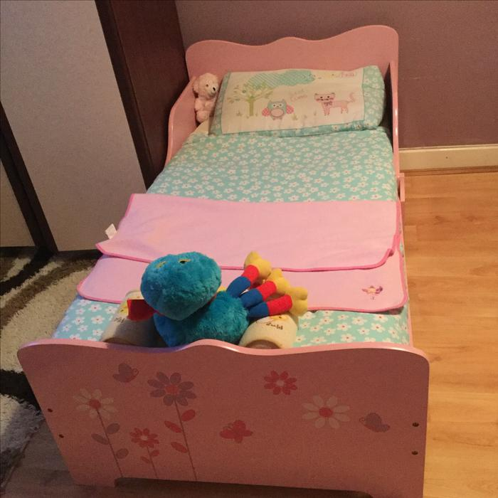Toddler Bed With Mattress And Bedding Sedgley Sandwell