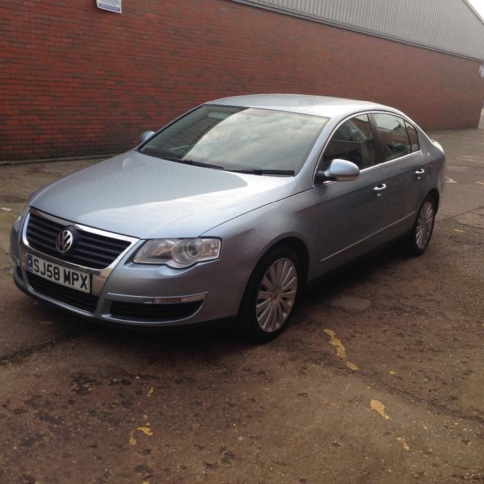 vw passat 1 9 tdi highline saloon blue leather seats heated seats other black country location. Black Bedroom Furniture Sets. Home Design Ideas