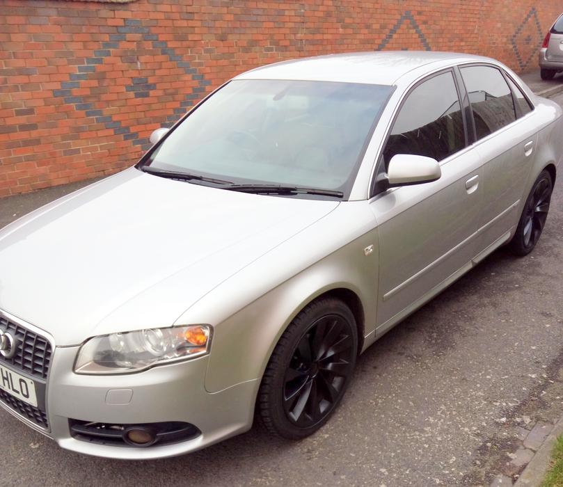 2005 Audi A4 S Line Full Black Leather ..turbine Alloys