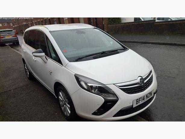 2014 Vauxhall Zafira Tourer 2.0 CDTi