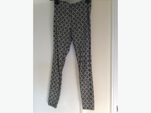 Topshop Patterned leggings