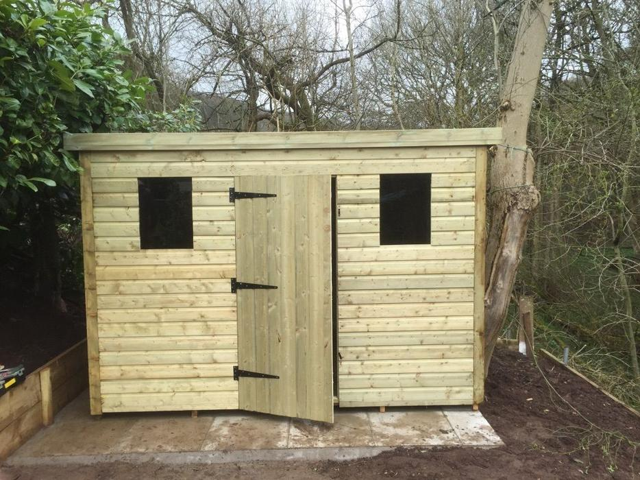 Bespoke garden sheds made to measure any size or spec for Bespoke garden sheds