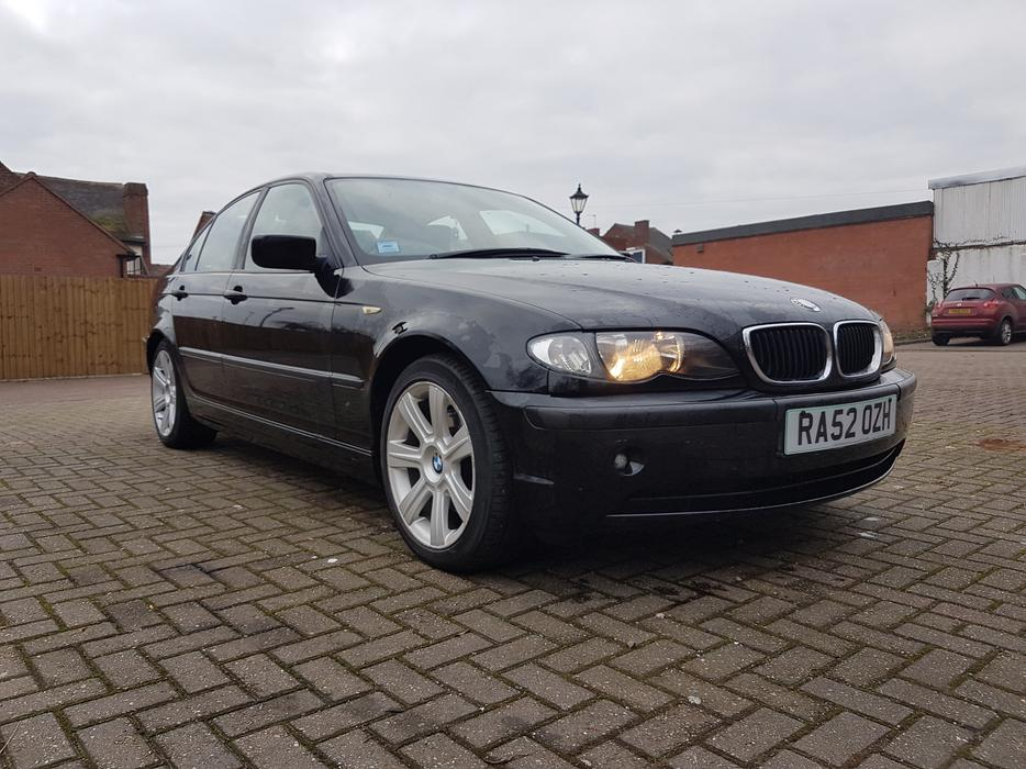 2002 39 52 39 bmw 320d se automatic 76k miles wolverhampton. Black Bedroom Furniture Sets. Home Design Ideas