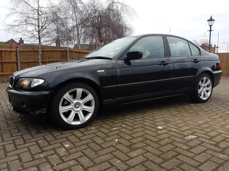 2002 39 52 39 bmw 320d se automatic 76k miles wolverhampton dudley. Black Bedroom Furniture Sets. Home Design Ideas