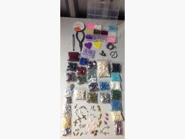 a79 new bulk craft lot jewellery making beads wire. Black Bedroom Furniture Sets. Home Design Ideas