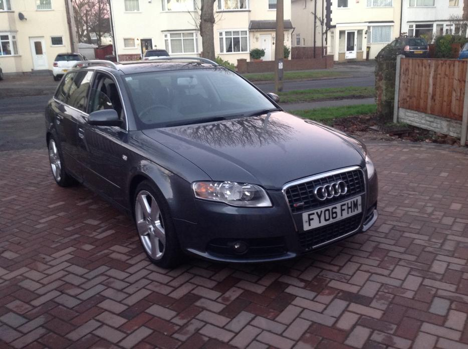 2006 Audi A4 Avant 2 0 Tdi Dsg S Line Outside Black Country Region Sandwell