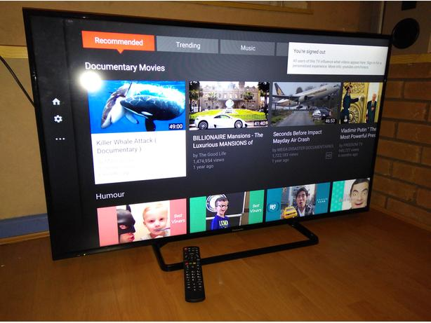 panasonic 50 inch edgeled smart tv with wi fi apps and freeview hd dudley sandwell mobile. Black Bedroom Furniture Sets. Home Design Ideas
