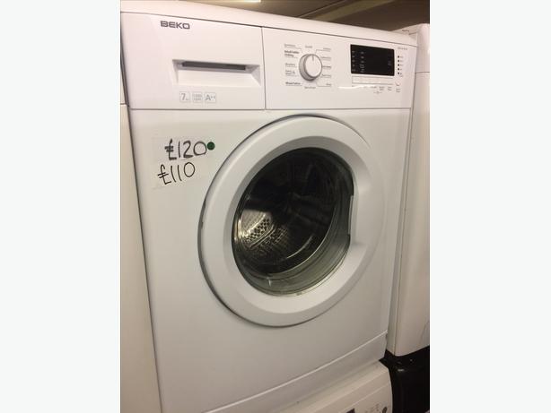 7kg white beko 1300 spin washing machine wolverhampton. Black Bedroom Furniture Sets. Home Design Ideas
