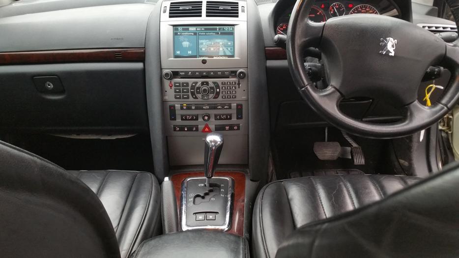 peugeot 407 2 0 hdi 136 executive diesel automatic sat nav fresh mot auto outside black. Black Bedroom Furniture Sets. Home Design Ideas
