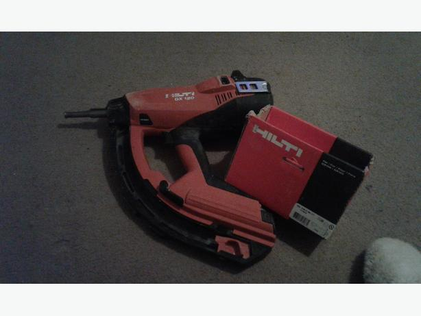hilti gx 120 nail gun dudley dudley. Black Bedroom Furniture Sets. Home Design Ideas