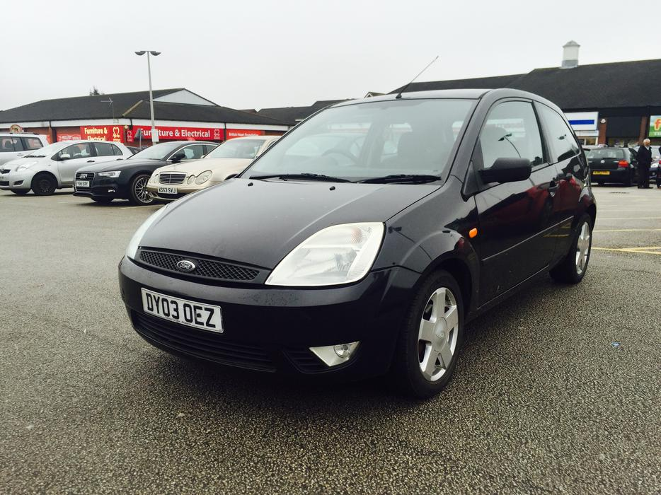 2003 03 ford fiesta 1 4 zetec 3 door smethwick dudley. Black Bedroom Furniture Sets. Home Design Ideas