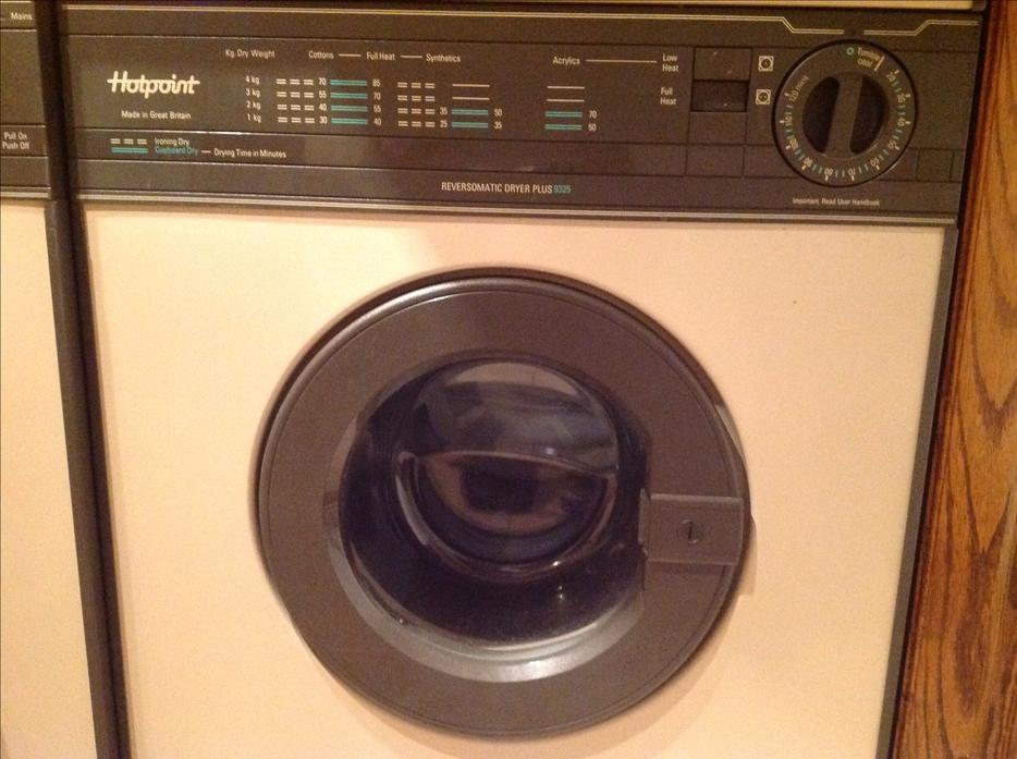 dryer washer hotpoint