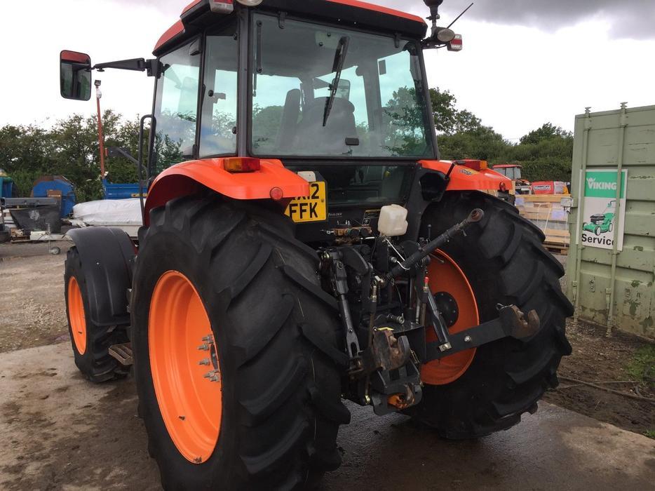 Kubota Tractors With Dual Wheels : Tractor kubota m s dudley sandwell