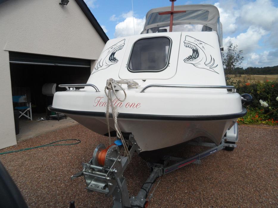 Sea hawk 17 fishing boat other wolverhampton for Seahawk fishing boat