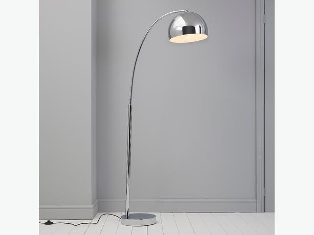 Arc Floor Lamp B And Q : Chrome floor lamp other wolverhampton