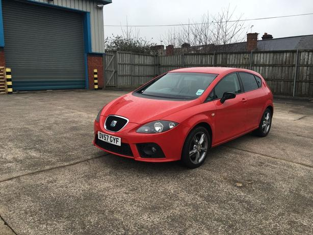 seat leon fr diesal tdi 170 bhp 2 owners 6 speed 12000 on clock walsall dudley. Black Bedroom Furniture Sets. Home Design Ideas