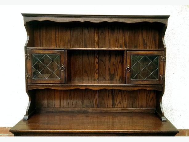 Welsh Dresser Solid Oak Old Charm Sideboard Dudley Sandwell Mobile
