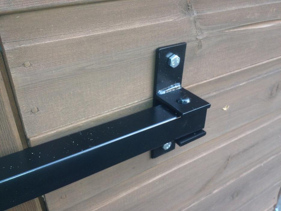 Security Door Stop Bar Hinged For Shed Garage Walsall Dudley
