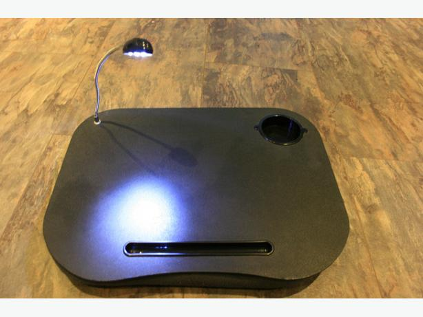 Portable Laptop Cushion Tray with 5 Led Moveable Light