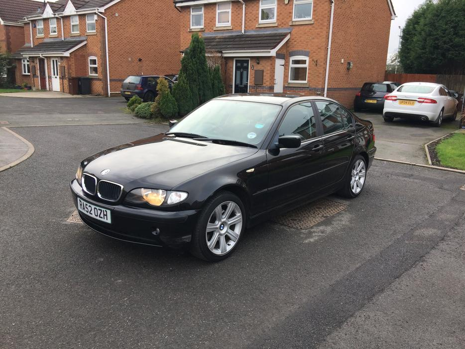 2003 39 52 39 bmw 320d se automatic 76k miles wednesfield wolverhampton. Black Bedroom Furniture Sets. Home Design Ideas