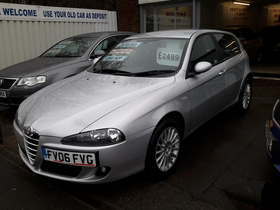Alfa 147 1 6 T Spark Lusso Mint Condition Only 44k Mileage