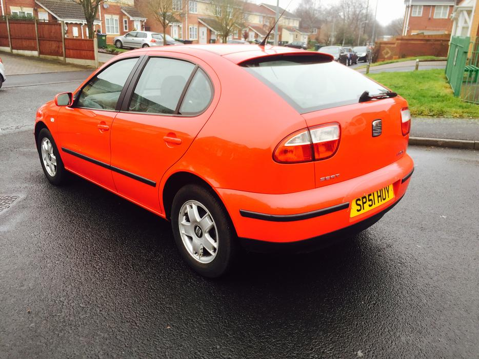 2001 seat leon 1 6 s 5door hachback smethwick dudley. Black Bedroom Furniture Sets. Home Design Ideas