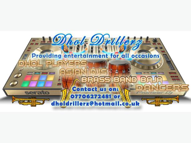 DHOL PLAYERS,  ASIAN DJ/INDIAN/PAKISTANI WEDDINGS OR EVENTS