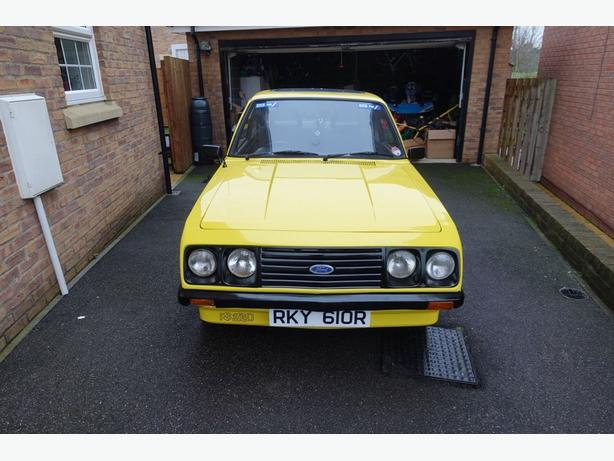 1976 Ford Escort Mk2 RS2000 good condition