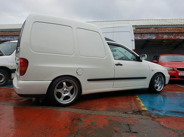 vw caddy mk2 1 9 sdi full mot solid clean example future