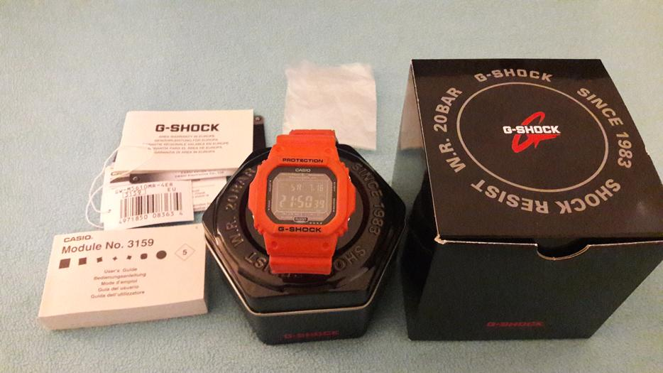 g shock timer instructions