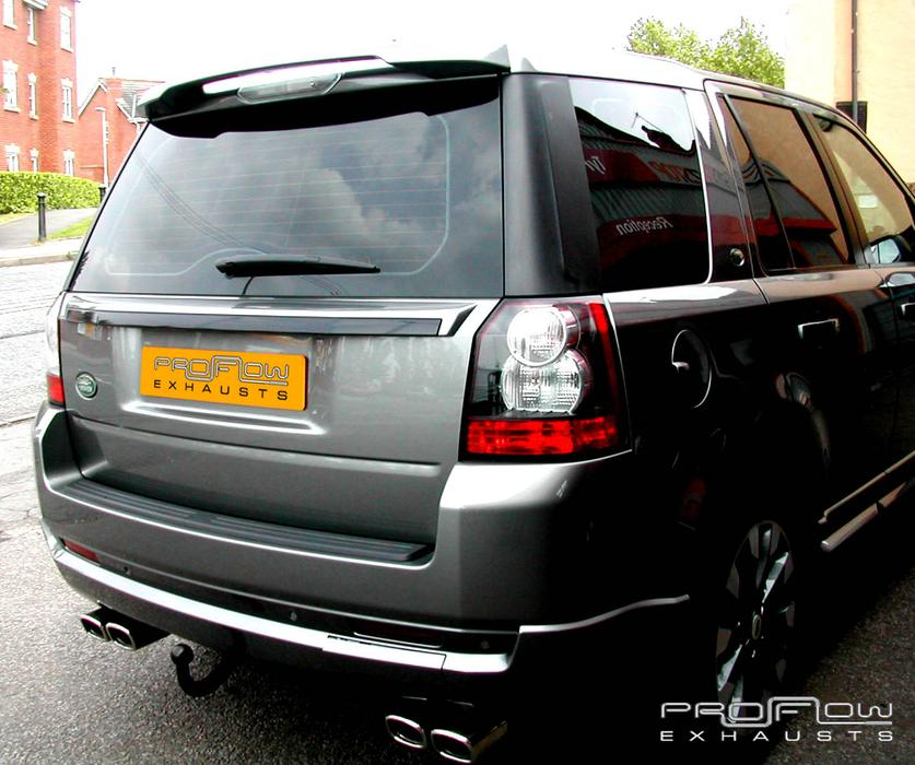 Land Rover Freelander 2 With Custom Exhaust (Cat Back