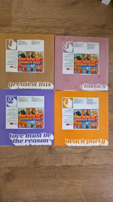 """James Last 7 x 12"""" lps (Collection). Smethwick, Dudley"""