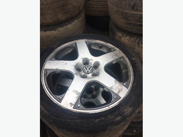 17 inch VW Golf alloys