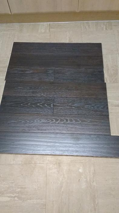 Dark oak laminate flooring b q 12sqm bilston wolverhampton for B q laminate flooring