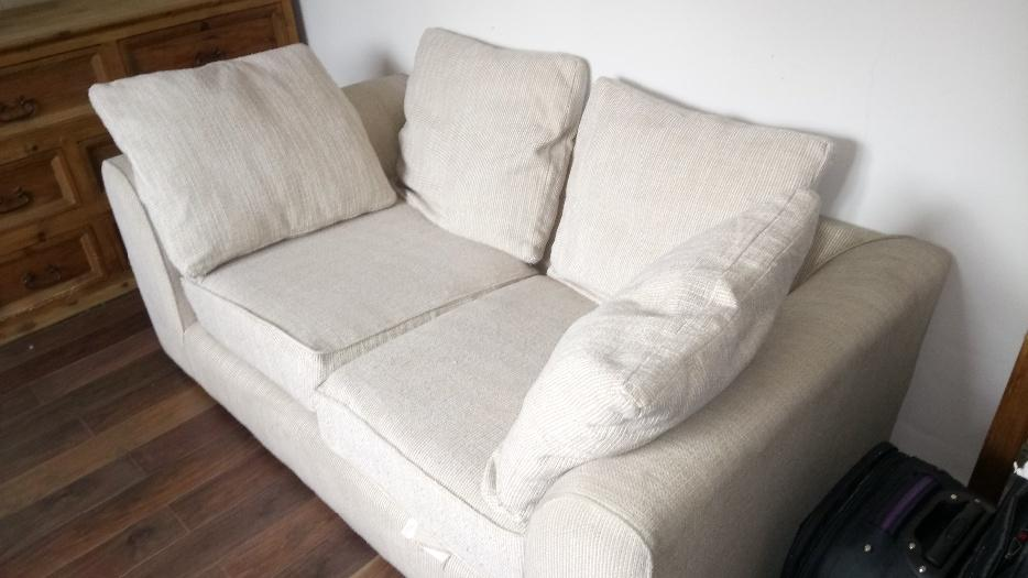 Cream next sofa quick sale needed wolverhampton sandwell for Cream sofas for sale