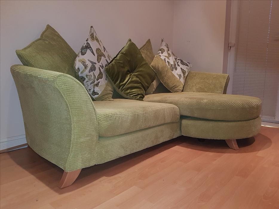 Sofa 4 seater pillow back great barr dudley for Perez 4 seater pillow back sectional sofa