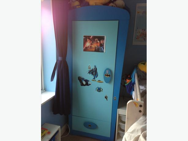FREE Blue Ikea Wardrobe Stourbridge Dudley