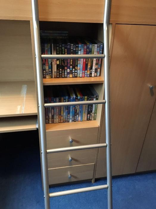 Cabin Bed With Desk And Wardrobe Dudley Dudley