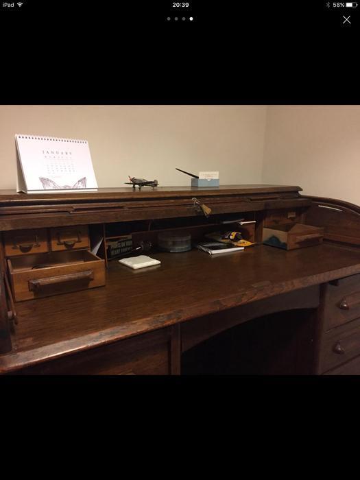 Beautiful Antique Roll Top Desk Wolverhampton Dudley