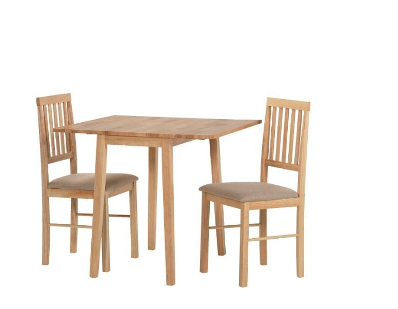 HOME Kendall Drop Leaf Ext Dining Table 2 Chairs