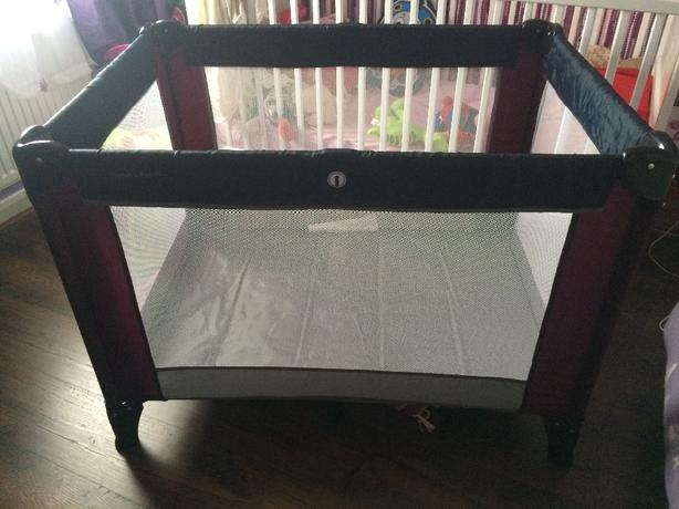 mamas and papas travel cot instructions