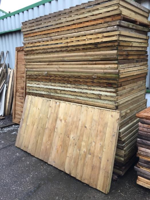 fence panels 6x3 8 each featheredge wolverhampton dudley. Black Bedroom Furniture Sets. Home Design Ideas