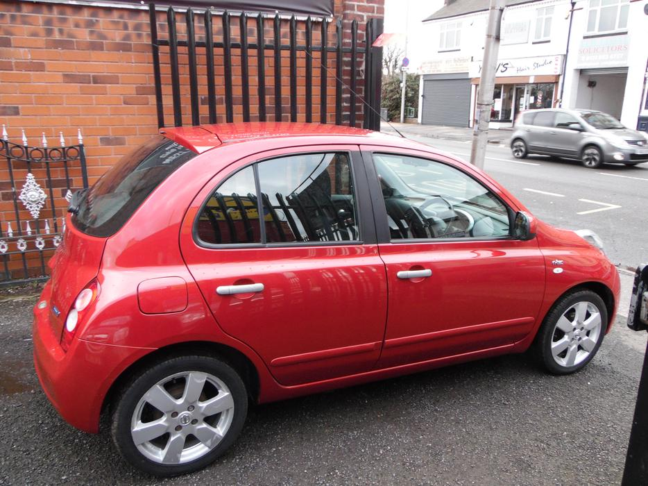 nissan micra 1 2 16v n tec 5dr west bromwich dudley. Black Bedroom Furniture Sets. Home Design Ideas