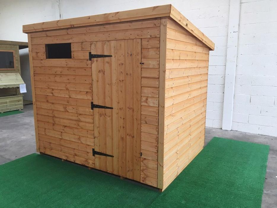 8x6 13mm shiplap garden shed brierley hill dudley for Garden shed 8x6